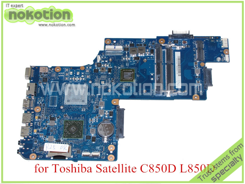 For toshiba satellite C850 C850D L850D Laptop motherboard 15.6'' DDR3 EM1200 CPU Onboard Mainboard H000052450(China (Mainland))