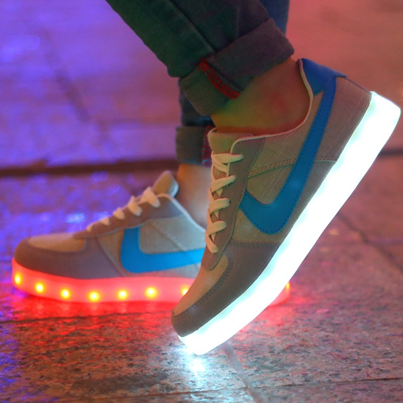 8 Colors Men Led Light Shoes Fashion Women Shoes Led,Casual Led Luminous Shoes For Adult Zapatos Hombre,free shipping()