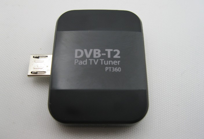 2015 New HOT TV Tuner DVB-T DVB-T2 DVB T2 Digital TV Receiver on Android Phone min USB Pad OTG(China (Mainland))