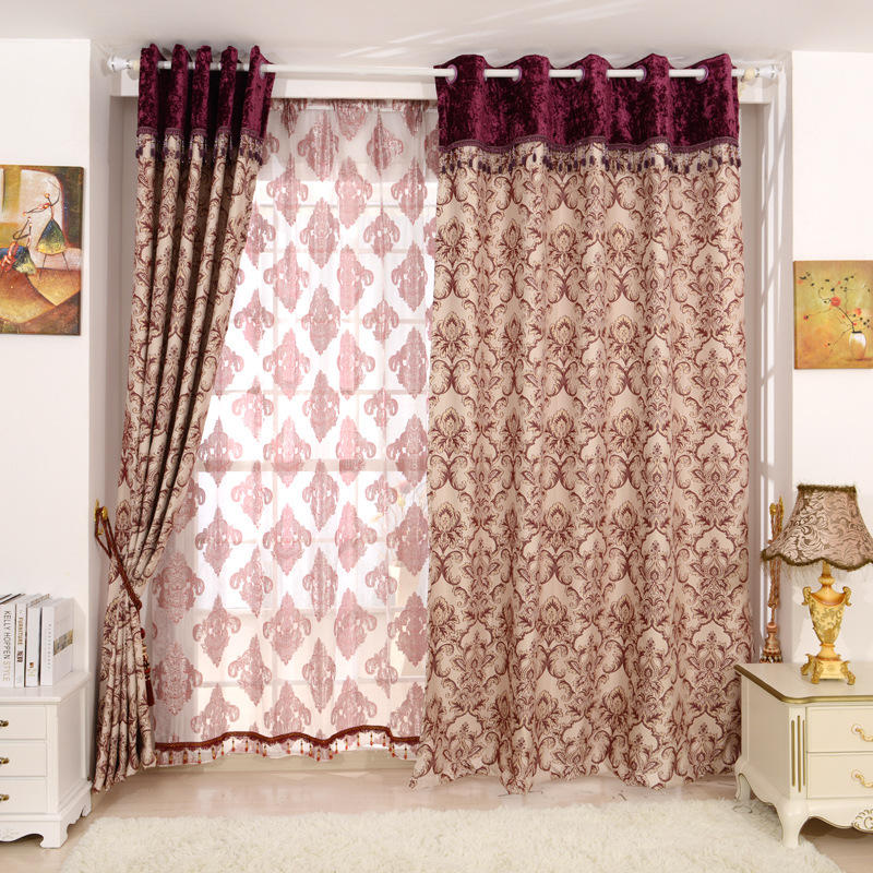 2016 new curtains for dining living bedroom room handle