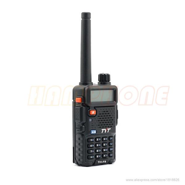 5W VHF 136-174MHZ handheld transceiver TYT TH-F8 walkie talkie 2PCS/lot(China (Mainland))