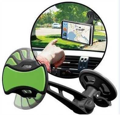 Car Mobile Cell Phone Mount GPS Navigation Holder Mobile Phone Universal GripGo Rotating 360 Degree Support GPS/DVD(China (Mainland))