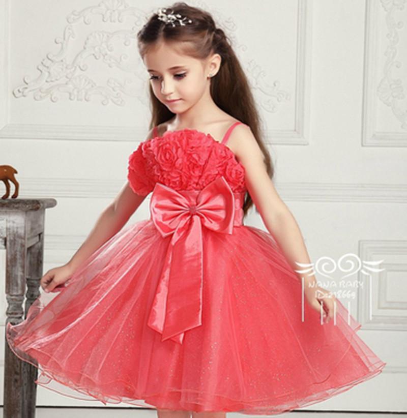 2015 latest summer wear sling floral children dress for girl clothing ...