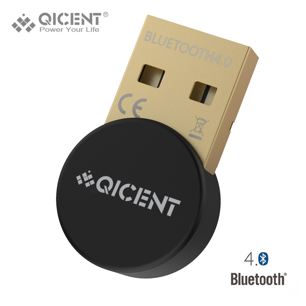 QICENT Plugable USB Bluetooth 4.0 Low Energy Adapter for PC, Wireless Dongle Keyboard Mouse Support All Windows 10 8.1 8 7 XP(China (Mainland))