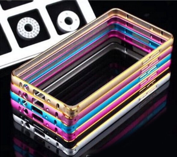Highest Quality Aluminum Alloy Of The Metal Frame Customization Bumper Case For Samsung Galaxy S7 S7edge 2016 A3 A5 A7 E7 G7200(China (Mainland))