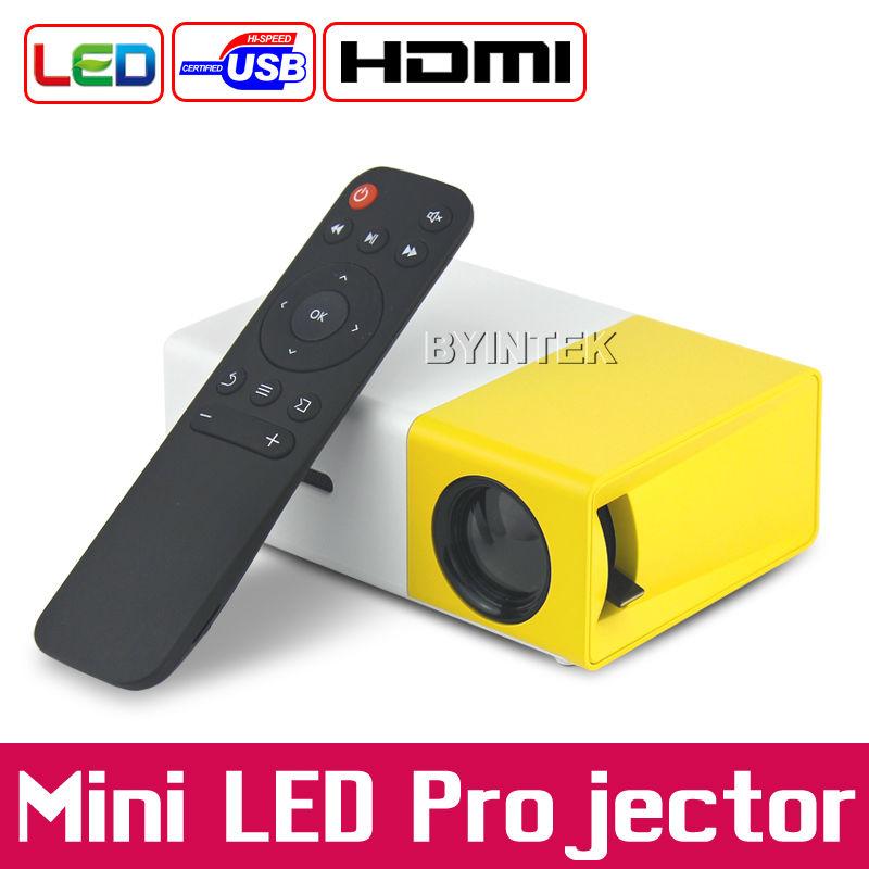 BYINTEK YG300 Home Theater Portable HDMI USB TF AV DC5V-in LCD LED Mini Video Projector Proyector Projetor Projektor Beamer(China (Mainland))