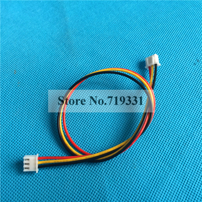 JST 2.5 XH 3-Pin Double 2 Male Connector Plug with cable*10pcs<br><br>Aliexpress
