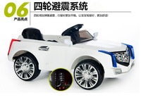 новый Кадиллак двухдисковый накопитель, четверо детей, Электрический автомобиль коляска может занять дистанционного управления игрушка автомобиль детей