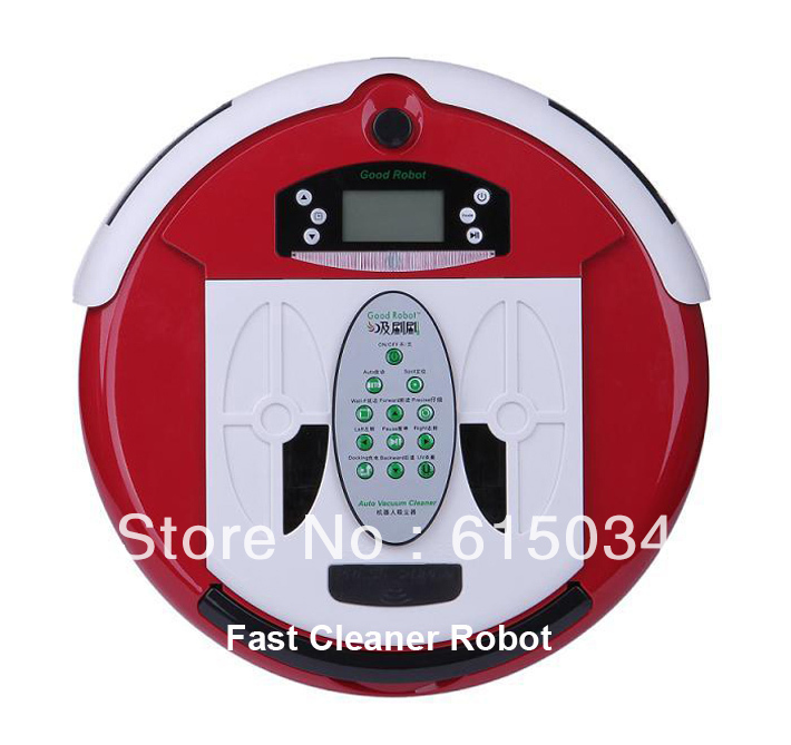 (Free Shipping For Russian Buyer)4 In 1 Multifunctional Robot Carpet Cleaner, LCD Screen,Touch Button,Schedule,Virtual Wall(China (Mainland))