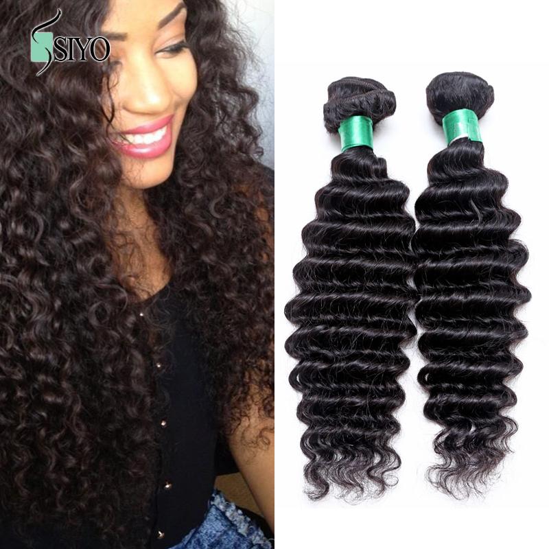6A Unprocessed Virgin Indian Deep Curly Hair 1 Bundle Remy Human Hair Weave Cheap Indian Deep Wave Aliexpress Hair Extensions<br><br>Aliexpress