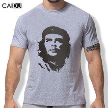 Nuevos hombres de la llegada moda 2016 verano estilo alta calidad hombre tshirt algodón Ernesto Guevara impreso T shirt caballero de marca(China (Mainland))