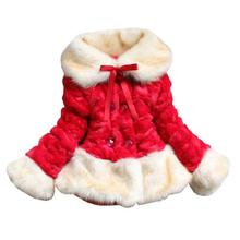Buy Children's Clothing Coats 2017 New Autumn Winter Girls Faux Fur Coat Thickening Wadded Jacket Outerwear Kids Girls for $22.17 in AliExpress store
