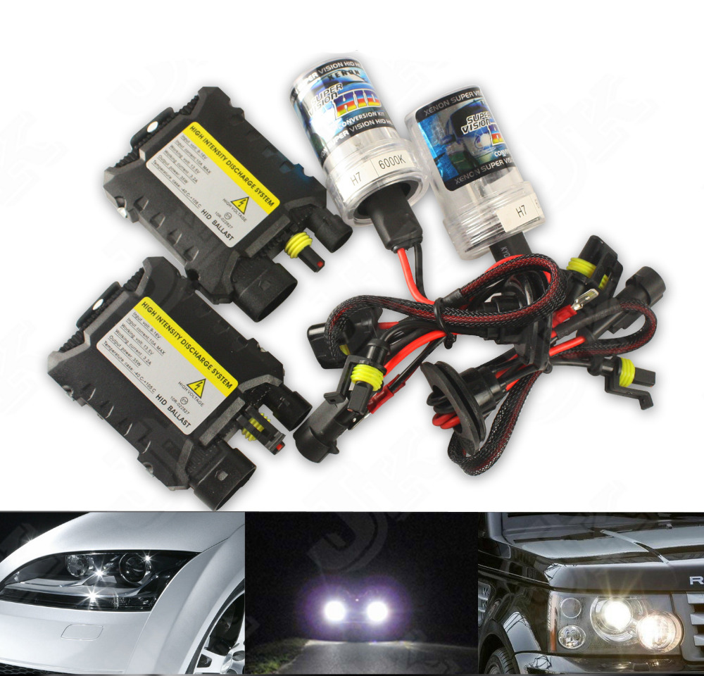 Factory Direct Sale!! 8000K H8/H9/H11 55w 12V Replacement Headlight Xenon HID SINGLE BEAM Slim Ballest Kit OME White(China (Mainland))