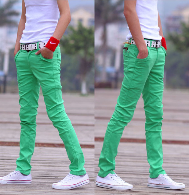 light green pants men - Pi Pants