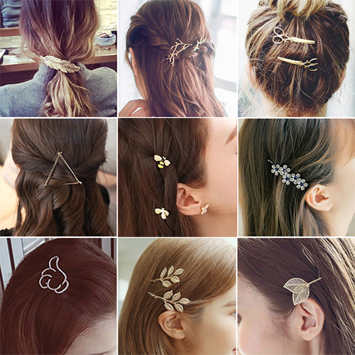 Fashion Hair Barrette Hairpins Hair Clips Accessories For Women Girls Hairgrip Hair Clamp Hairclip Ornaments Headwear Wholesale(China (Mainland))