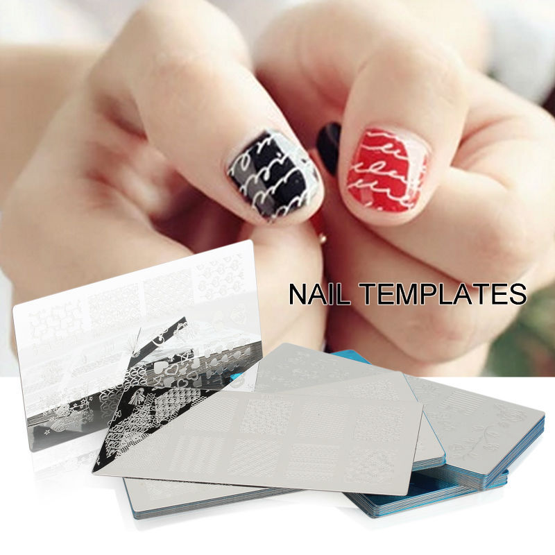 Nail Art Plate Stamping 6cm*12cm Nail Polish Stamping Nail Art DIY Nail Polish 60style for choice Big Promotion Limited Sale(China (Mainland))