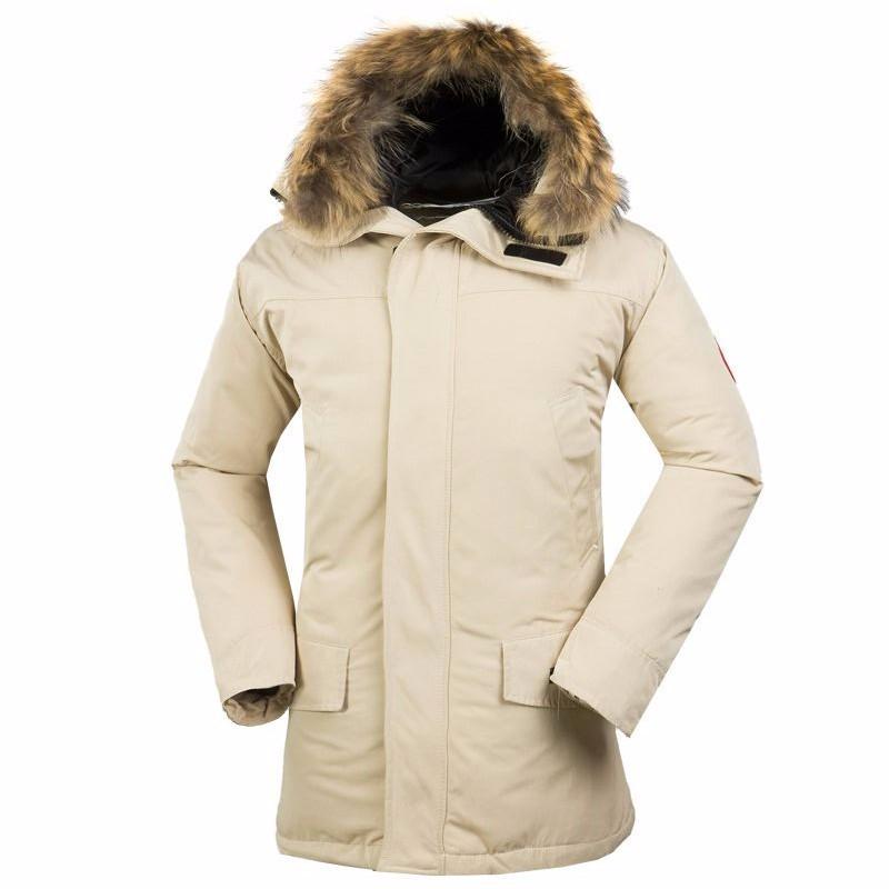 2015 Winter Jacket Men canada Down Parka women's winter jacket Solid Outdoor Men windbreaker Bomber Jacket Colete jacket(China (Mainland))