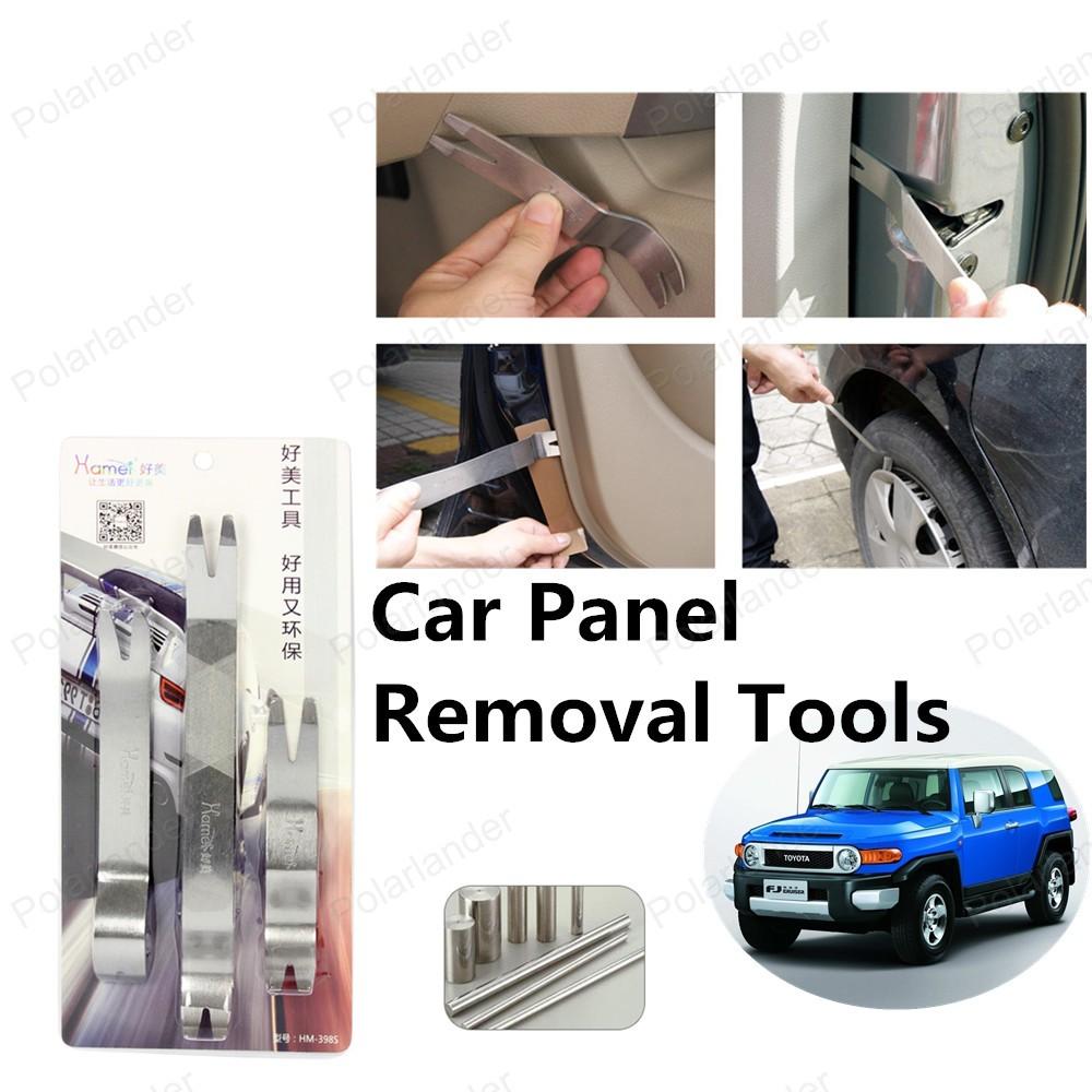 Новый автомобиль средство для удаления панели Высокое качество 3 шт./компл. авто-радио обивки двери даш аудио удаления установщик прая инструмент