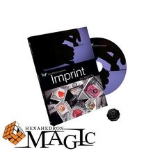 Free shipping New arrival Imprint (All and Gimmick) Jason Yu and SansMinds close-up card magic trick products / wholesale(China (Mainland))