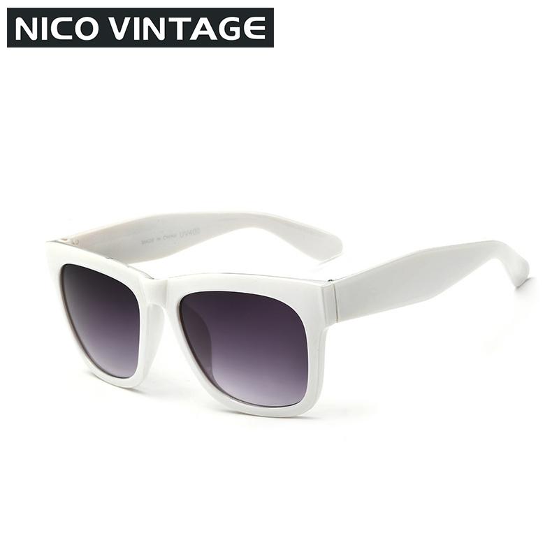 Black Wayfarer Sun glasses Men Fashion Vintage Sunglasses Men Male 2015 Oversize Gafas Oculos de sol