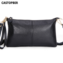 Buy Designer Fashion Genuine Leather Envelope Day Clutches Designer Handbags High Crossbody Womens Female Clutch Evening Bag for $12.51 in AliExpress store