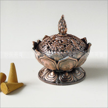 Free shipping bronze classical style Incense burner iron material surface copper unbreakable,Mini incense burner(China (Mainland))