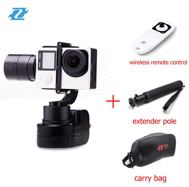 2016 Newest Zhiyun  Z1-Rider M WG 3 Axis Brushless wearable gimbal for gopro 4 / 3+ / 3 with Bluetooth wireless remote control <br>