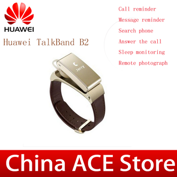 Оригинал Huawei TalkBand B2 смарт браслет для Huawei P8 мобильный телефон с bluetooth наушники