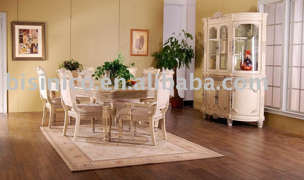 Hand carved American dining room sets,dining table,arm chair,dining chair,wine cabinet,American furniture(China (Mainland))