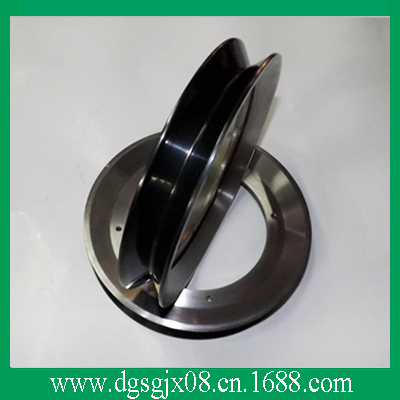 Coating ceramic guide pulley  for wire and cable machine