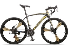 Personality 700C Road Bike, Use High Carbon Steel Frame & Fork,Alumminum Rim,Disc Brakes,Top Derailleur(China (Mainland))