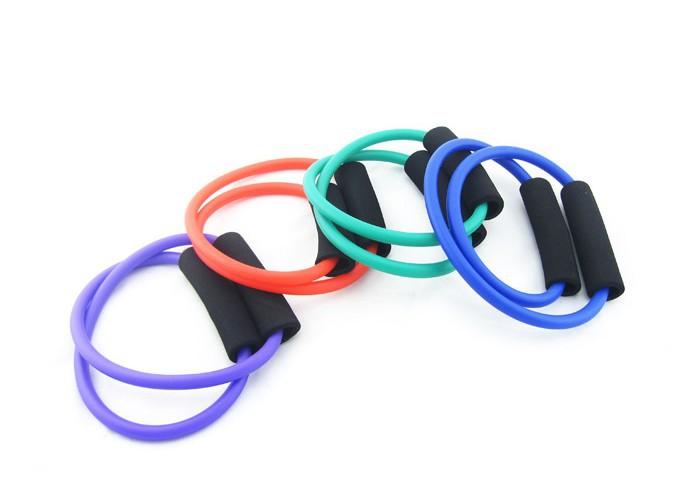 Fitness Resistance Bands Latex Exercise Tubes Elastic Training Rope Yoga Pilates Sport equipment(China (Mainland))