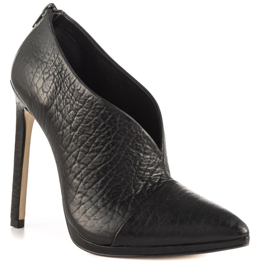 Black Pointed Toe Women Pumps High Heels Sapatos Femininos Slip-on Woman Shoe Summer 2015 Small Size High Heel Shoes Custom Made