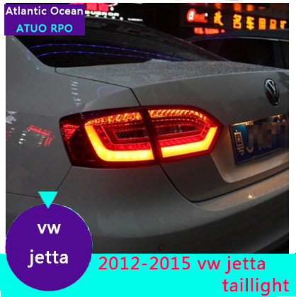 AUTO.PRO 2011-2014 For vw jetta LED rear lights For vw jetta MK6 LED taillights A4 model LED rear lamp car styling car led light(China (Mainland))
