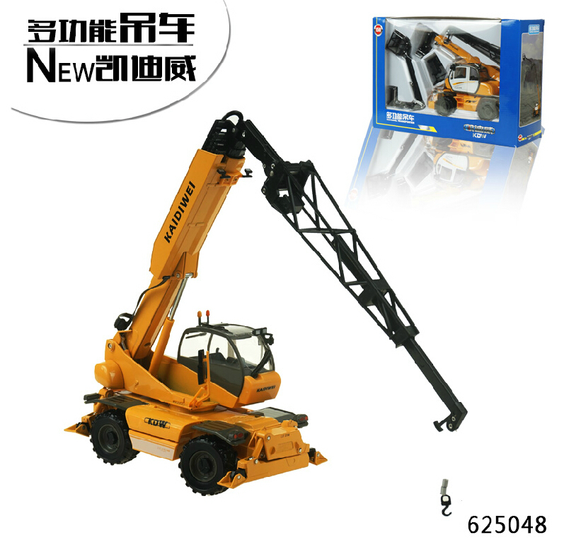 NEW 1:50 1:50 multifunction alloy crane truck crane model simulation of metal toy car model(China (Mainland))
