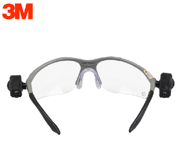 3m 11476 protective led safety glasses dual bright led. Black Bedroom Furniture Sets. Home Design Ideas