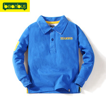 Autumn Children Clothes Tops Solid Tee Polo Shirts Boys Long Cotton Sleeve Polo Shirt Sports Shirts Boys Kids Men Jersey Brand(China (Mainland))
