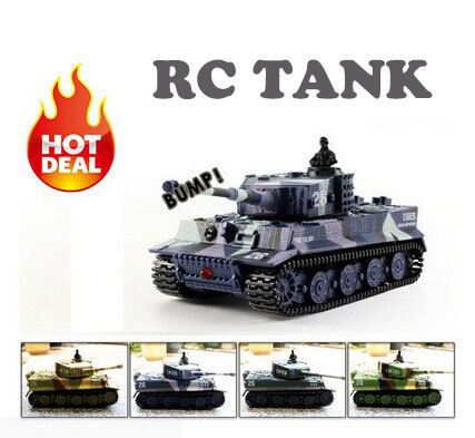 2015 Hot Sale Mini 1:72 RC Toy Tank 14CH Radio Remote Control Tiger Battle RC Tank mini Toy Tank Gift for Kids Free Shipping(China (Mainland))