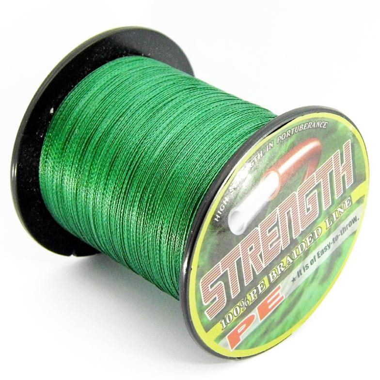 2015 Japen Material PE Multifilament Floating 100M Green Ocean Mainline Braided Wire Fishing Line 6-80lb(China (Mainland))