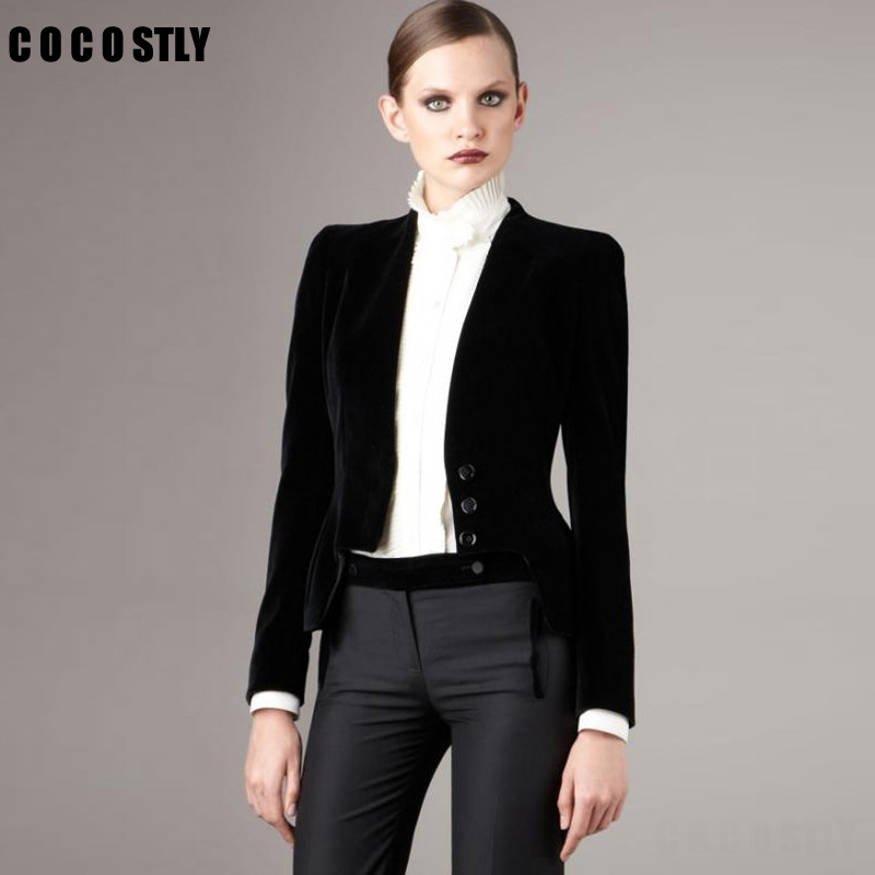 High Quality Short Black Blazer Promotion-Shop for High Quality ...