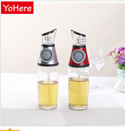 YoHere kitchen cooking tools storage measurable oil vinegar dispenser bottle creative pot for bottle type pot glass oil leak(China (Mainland))