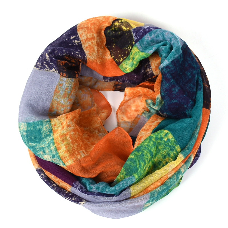 plaid infinity scarf women schal bandana Graffiti hijab cachecol feminino font b tartan b font foulard