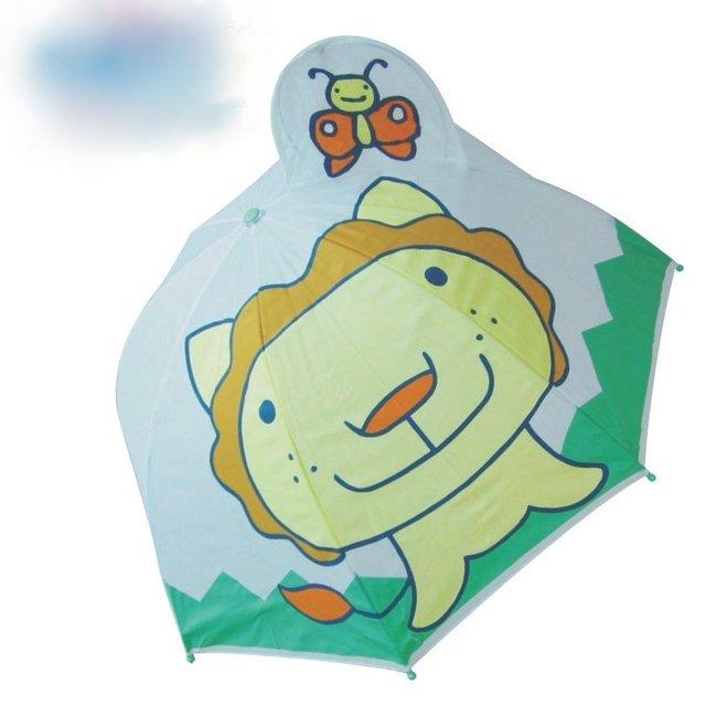 1 piece lion cartoon pattern  children umbrella