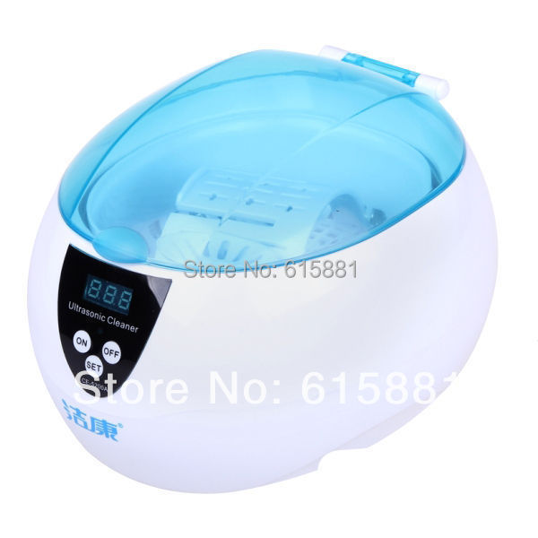 CE-5200A Digital Ultrasonic cleaning machine Jewelry Glasses Watch CD DVD 50W 220V 750ml(China (Mainland))