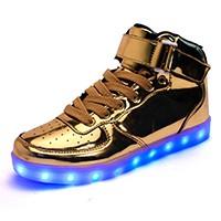 SYTAT High top girls new shoes simulation unisex glowing light up basket led luminous shoes adult femme flashing led shoes