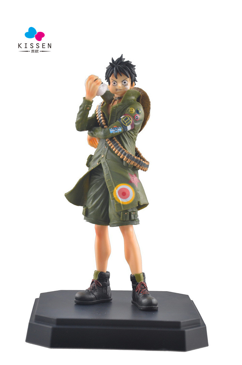 Kissen 2016 New Limited Action Figure font b Anime b font One Piece D Luffy Hot