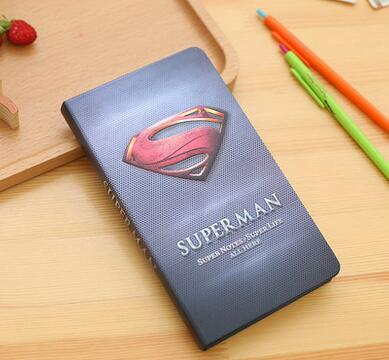 The hero union theme hardcover mini portable notebook line note 192 pages 18.5*10.5cm free shipping gift<br><br>Aliexpress