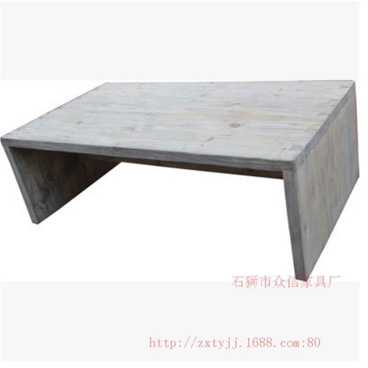Original single export wood color tables can be customized to do the old wood coffee table coffee table(China (Mainland))