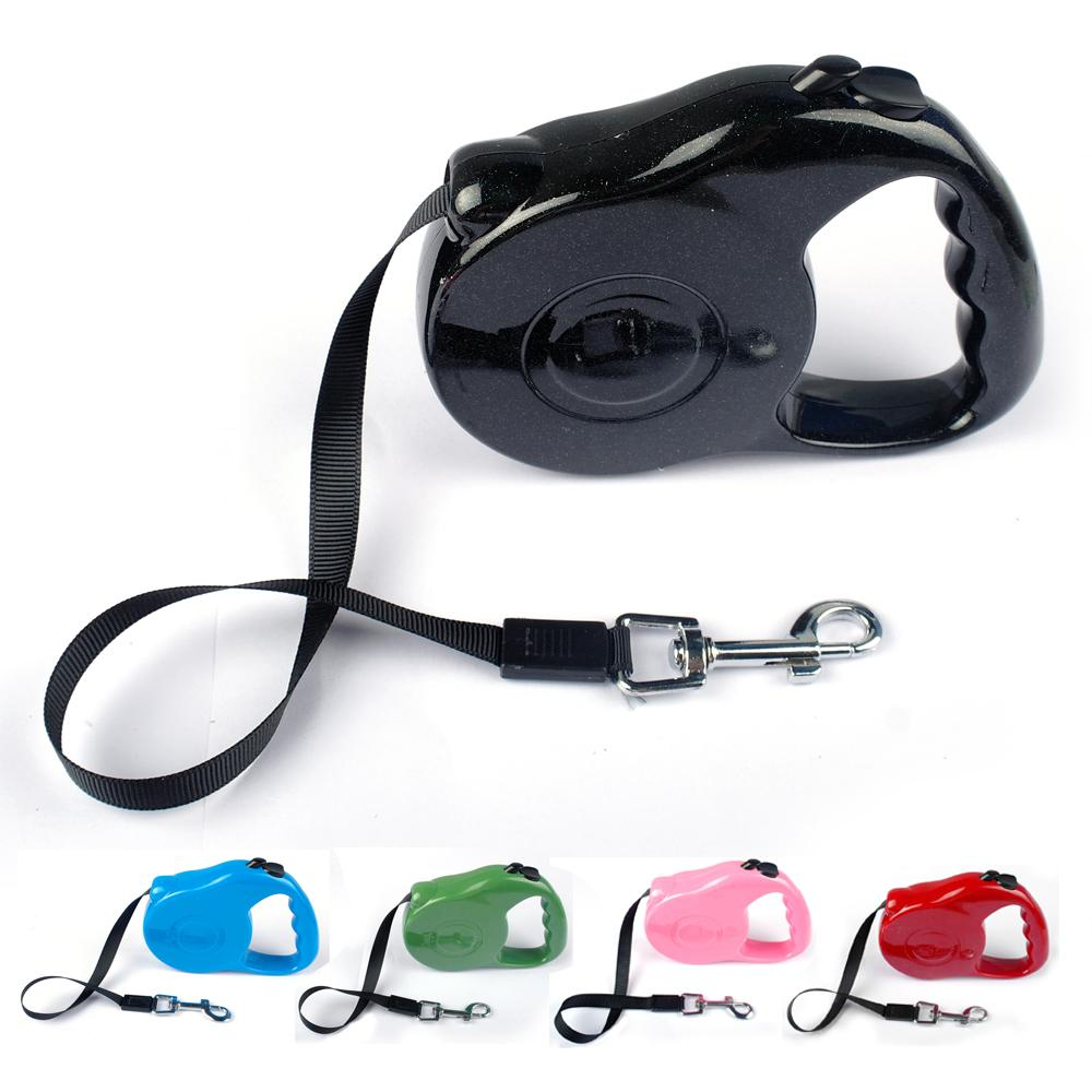 3M 5M Retractable Dog Leads Extending Puppy Walking Leash(China (Mainland))