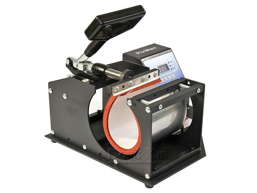 Free shipping 1in1 Mug sublimation press machine DX-021 Digital Cup Mug Heat transfer Machine Sublimation Mug Press printing(China (Mainland))